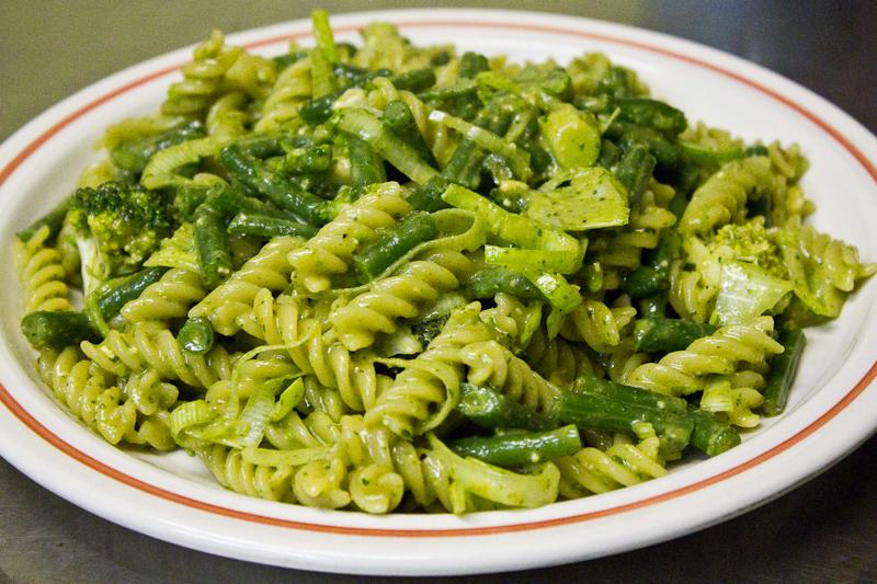 Green Pesto Pasta