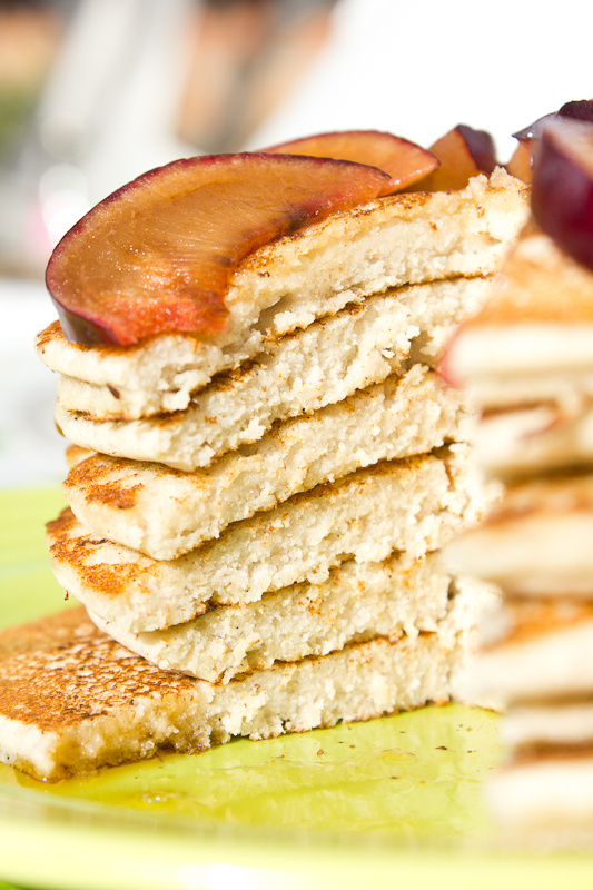 breakfast pancakes! vegan and glutenfree.
