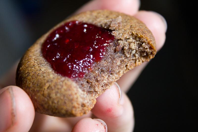 Peanutbutter&Jam Cookies