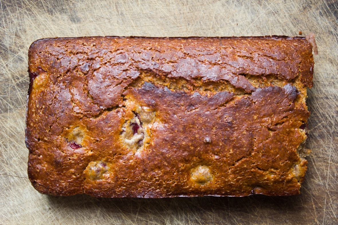 Quinoa Banana Cherry Loaf