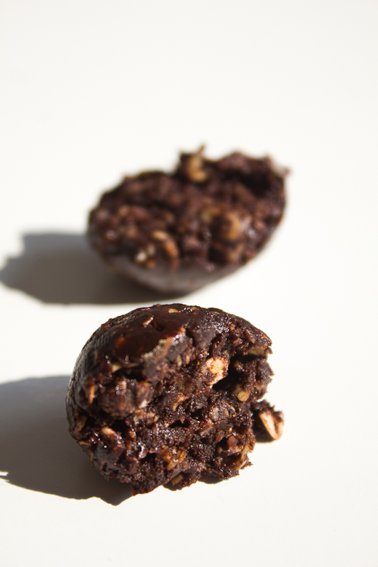 chocolate oat truffles