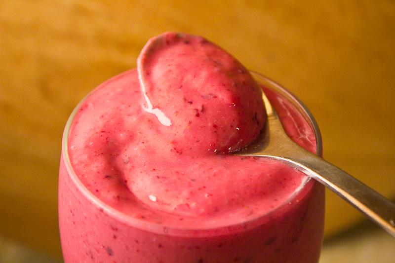 Berry Yoghurt Sorbet
