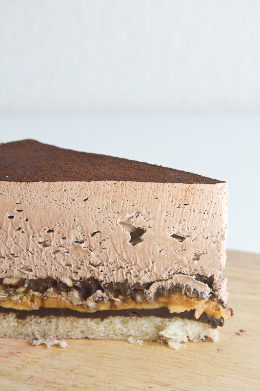 Snickers Mousse Torte