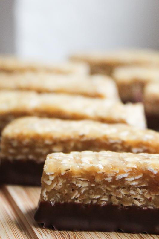 PB oatmeal bars