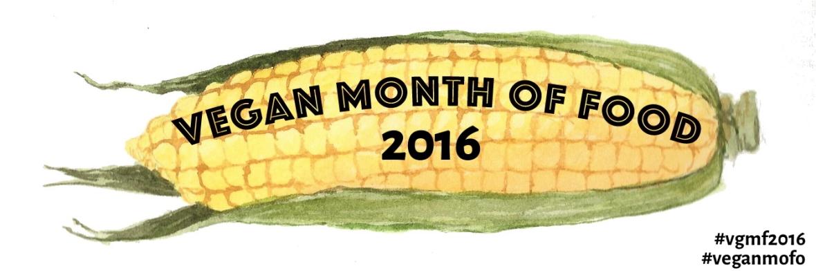 vegan mofo 2016 - corn