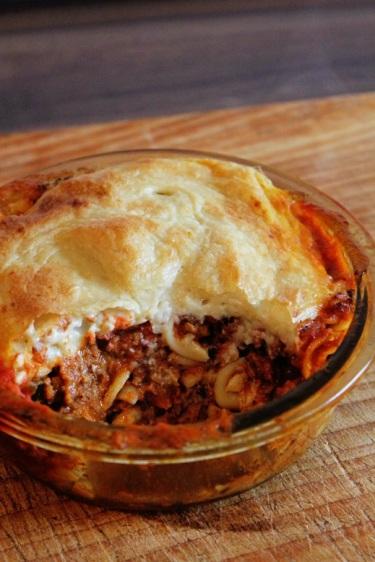 Bolognese Pasta Bake | Überbackene Bolognese