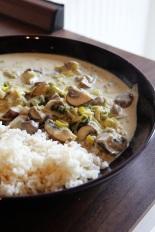 Leek & Mushroom Rice   Lauch-Pilz-Reis