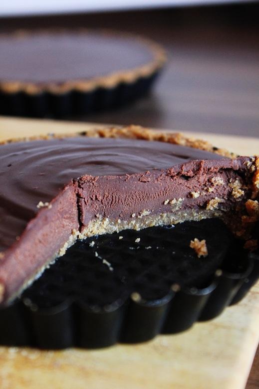 Chocolate Ganache Tarts | Schokoladenganache-Tartelettes