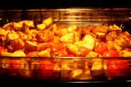 Potato Vegetable Bake   Kartoffel-Gemüse-Auflauf
